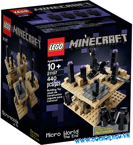 21107 LEGO® Minecraft Micro World - The End