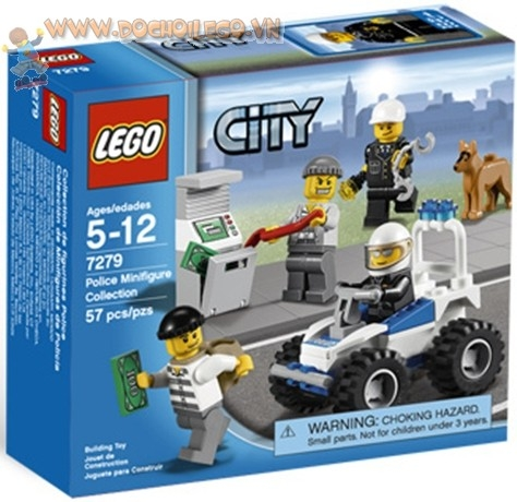 7279 LEGO® Police Minifigure Collection