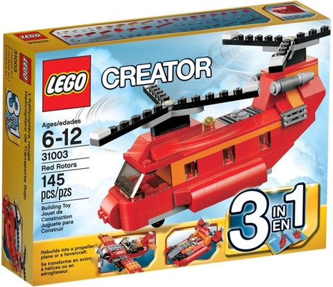 31003 LEGO® Creator Red Rotors (3in1)