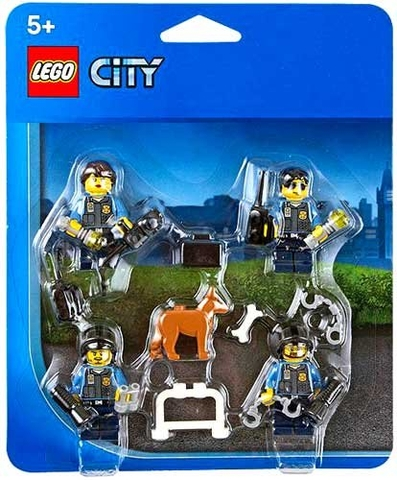850617 LEGO® City Police Officers & Dog Minifigure Accessory