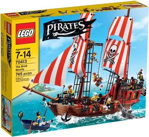 70413 LEGO® Pirates The Brick Bounty