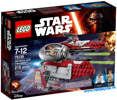 75135 LEGO® Star wars Obi-Wan's Jedi Interceptor