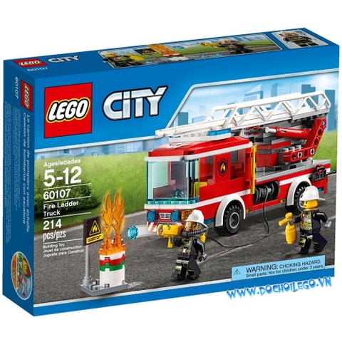 60107 LEGO® City Fire Ladder Truck