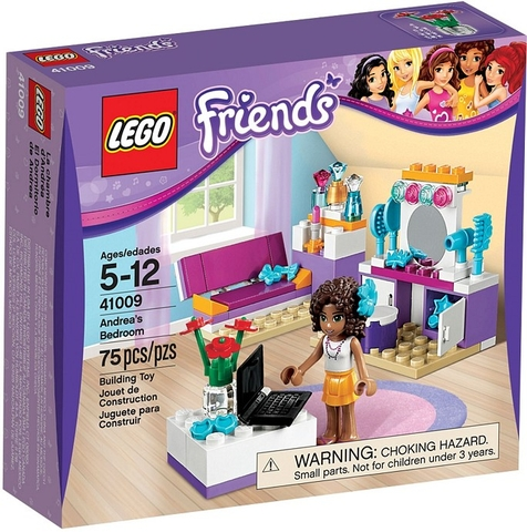 41009 LEGO® Friends Andrea's Bedroom