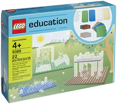 9388 LEGO® Education Small Building Plates Set