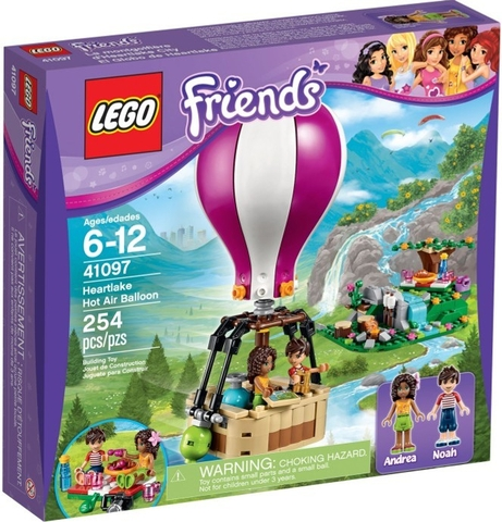 41097 LEGO® FRIENDS Heartlake Hot Air Balloon