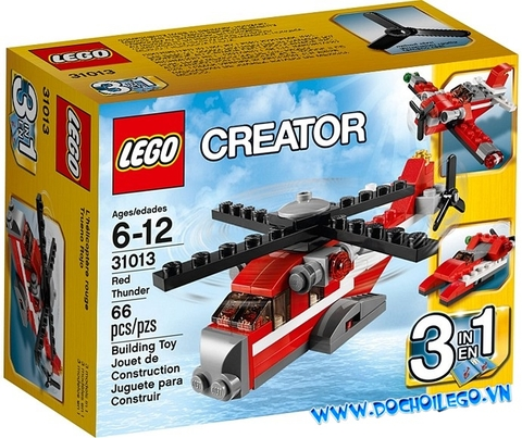 31013 LEGO® Red Thunder (3in1)