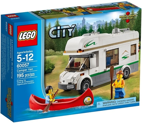 60057 LEGO® Great Vehicles Camper Van