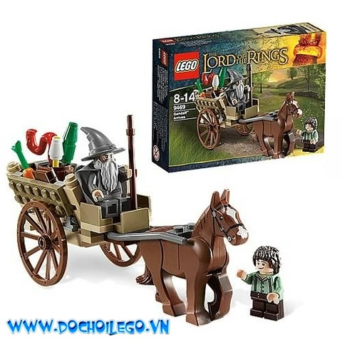 9469 LEGO® LORD OF THE RINGS Gandalf Arrives