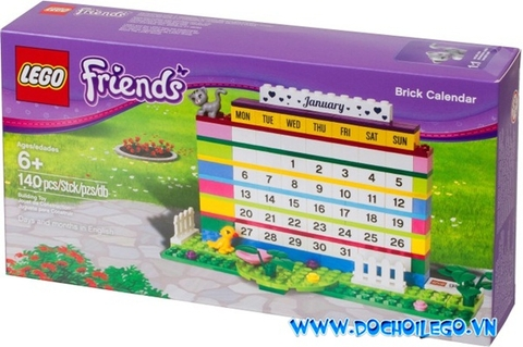 850581 LEGO®  Friends Brick Calendar