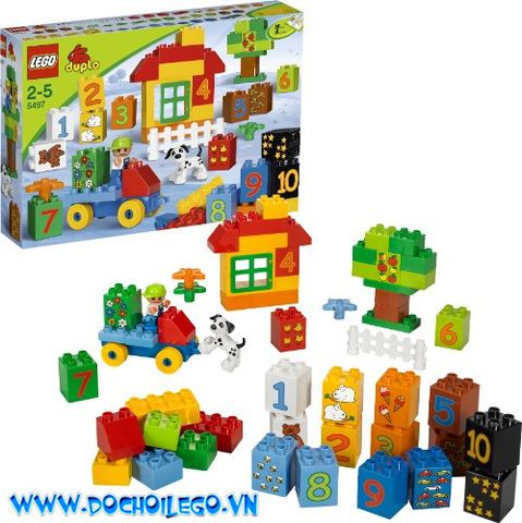 5497 LEGO DUPLO® Play with Numbers - Bộ học đếm số