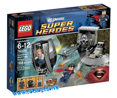 76009 LEGO® Super Heroes Superman Black Zero Escape
