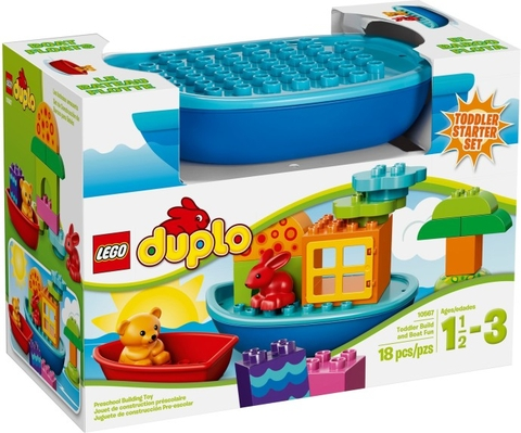 10567 LEGO® DUPLO® Toddler Build and Boat Fun