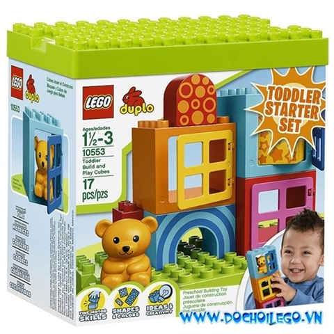 10553 LEGO® DUPLO Toddler Build and Play Cubes