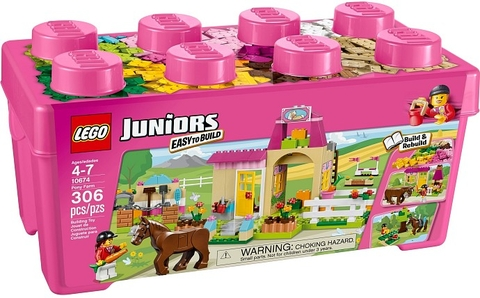 10674 LEGO® Junior: Pony Farm