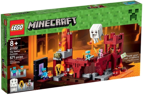 21122 LEGO® MineCraft™The Nether Fortress (New)