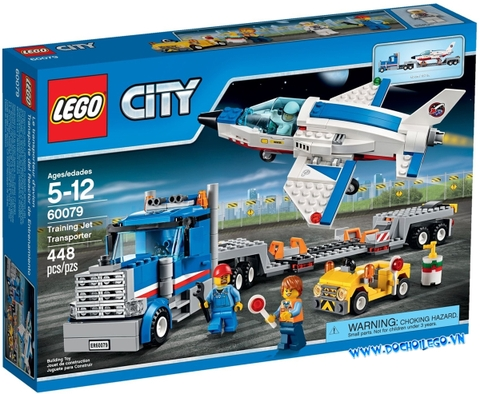 60079 LEGO City Training Jet Transporter