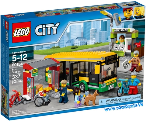 60154 LEGO City Bus Station