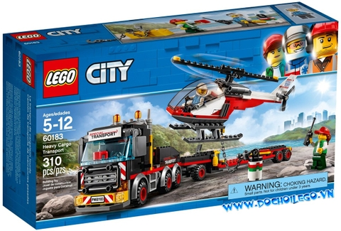 60183 LEGO City Heavy Cargo Transport