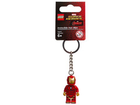 853706 LEGO Invincible Iron Man Key Chain