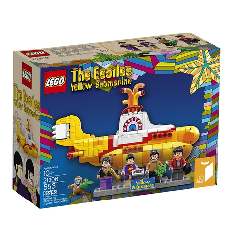 21306 LEGO Ideas  Yellow Submarine