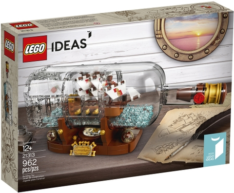 21313 LEGO Ideas SHIP IN A BOTTLE