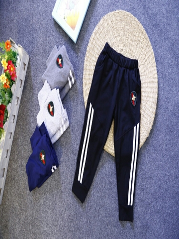 Quần cotton logo 1-10y G10.52
