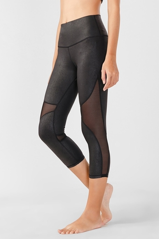 HH247 WOMEN HIGH-WAISTCAPRI