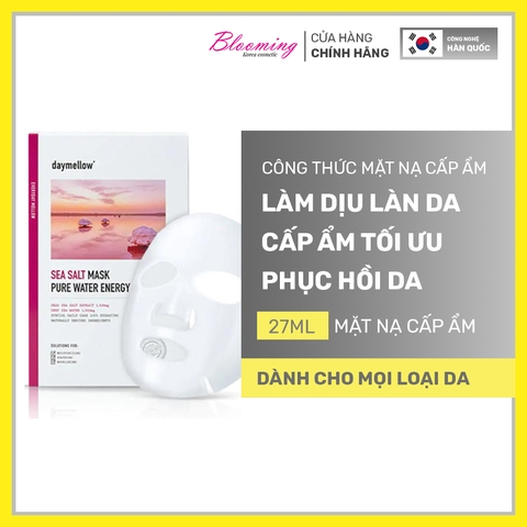 Mặt Nạ Daymellow Seasalt Mask Pure Water Enegry 27ml