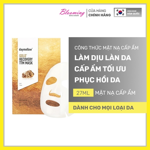 Mặt nạ Daymellow Gold Recovery TTM Mask 27ml