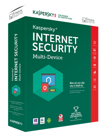 Kaspersky Internet Security – 5 PC/năm