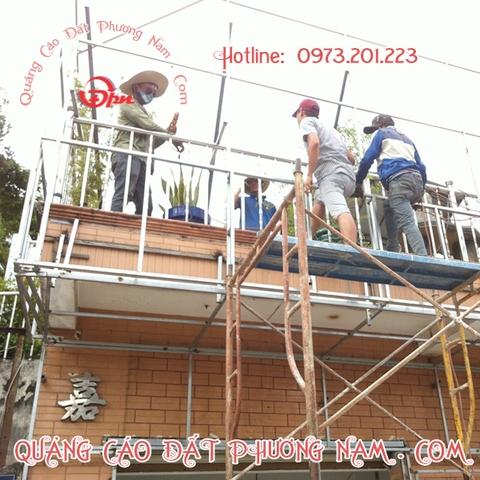 Mặt dựng Alu, ốp nhôm Alu, thi công mặt dựng Alu chuyên nghiệp ĐPN