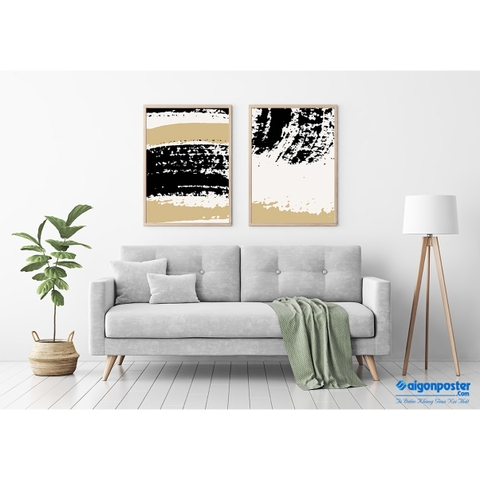Tranh Canvas Abstract 112401