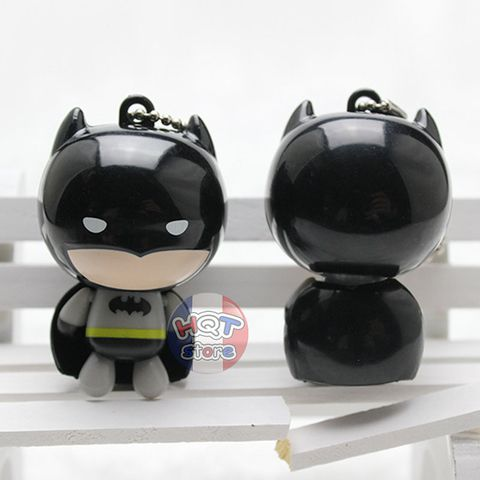 Móc khóa Batman vs Superman Chibi