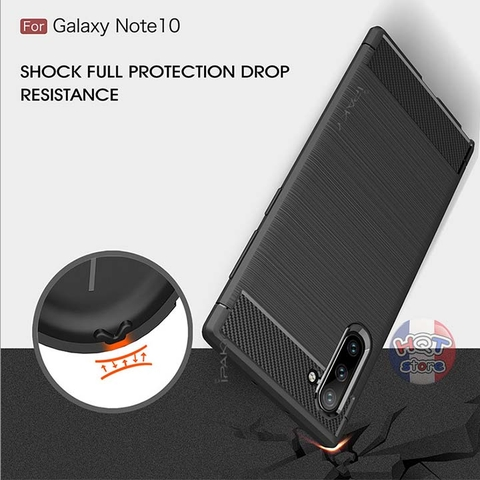 Ốp lưng chống shock Ipaky Onyx cho Samsung Note 10 Plus / Note 10