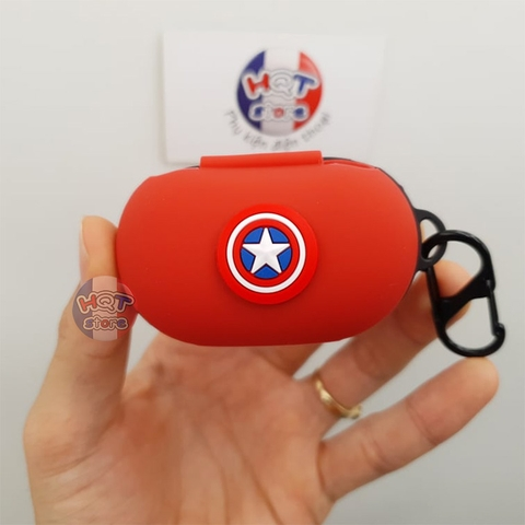 Ốp silicon case chống sốc Marvel cho tai nghe Galaxy Buds / Buds Plus