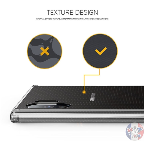 Ốp lưng chống sốc trong suốt Likgus Zero Samsung Note 10 Plus Note 10