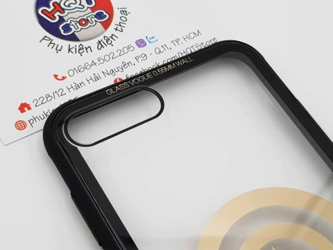 Ốp lưng kính trong 9H Batman Captain America Iphone X 7 Plus 8 Plus