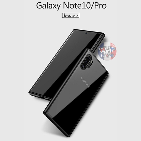 Ốp lưng trong suốt IPaky Bright cho Samsung Note 10 Plus / Note 10