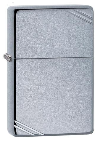 Zippo Street Chrome Vintage with Slashes 267