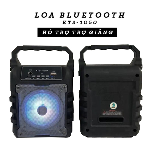 Loa Bluetooth KTS-1050 (Trợ giảng)