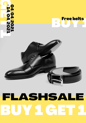 FLASHSALE THÁNG 4 - FREE BELT FOR ALL PURCHASES