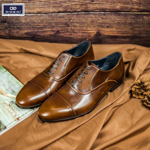 Giày Oxford Cap-toe