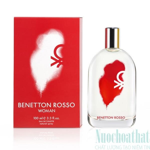 Benetton Rosso Woman Eau de Toilette 30ml