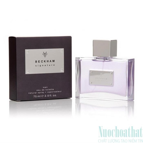 David Beckham The Signature Eau de Toilette 75ml