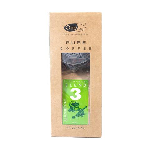 Pure Coffee - Blend 3 - Arabica - Robusta - 250gr