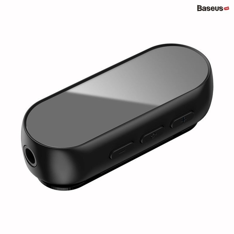 Bộ Bluetooth Receiver Baseus BA02 Wireless Adapter (Audio Bluetooth V5.0 Receiver to Jack 3.5mm, for Earphone / Speaker)