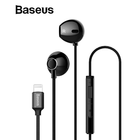 Tai nghe Lightning Baseus Digital Earphone Encok P06 cho iPhone/iPad (Wired Stereo Lightning Jack earphones With Mic)