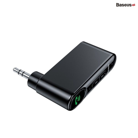 Bộ Bluetooth Receiver dùng cho xe hơi Baseus Qiyin AUX ( Car AUX 3.5mm Bluetooth Receiver/ Adapter)