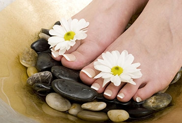 Manicure & Pedicure Massage hot stone